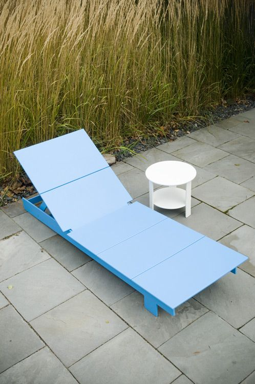 Lollygagger Chaise Lollygagger Chaise Modern Recycled Outdoor Furniture By Loll Designs