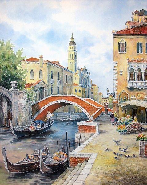 Yarmin artist Vasily. Batik (34 works)