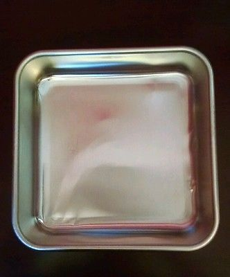 Nordic ware square cake pan with lid 10 x 10