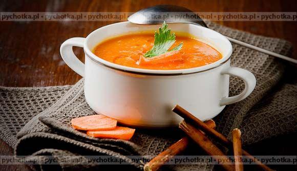 Zupa marchewkowa Tomka