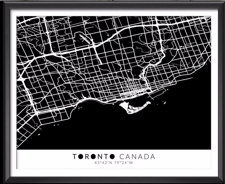 The 25 best map with coordinates ideas on pinterest latitude toronto canada map with coordinates sciox Image collections
