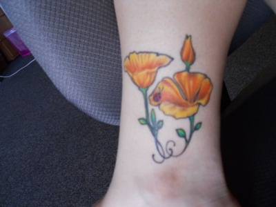 17 best ideas about california poppy tattoo on pinterest for Inflictions tattoo covina ca