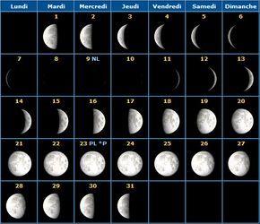 Quand se couper les cheveux et s'épiler en 2016 Couper ses cheveux avec la lune Pour bien comprendre l'influence de la lune sur nos cheveux et sur tout le reste comme les marées, les plantations, il faut comprendre les différentes phases. Avant vos calendrier,...