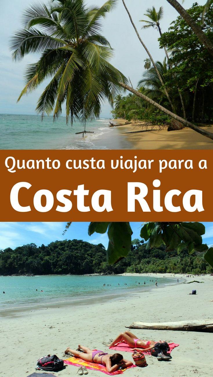 Quanto custa viajar para a Costa Rica: veja os valores de estadias, passeios, refeições dessa viagem para conhecer lindas praias, vulcões e florestas por esse país da América Central.