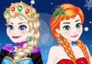 Vestir Elsa y Anna http://www.juegosfrivol.com/vestir-elsa-y-anna.html