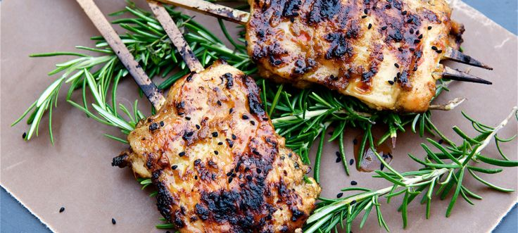 Barbecue Satay Chicken Thighs