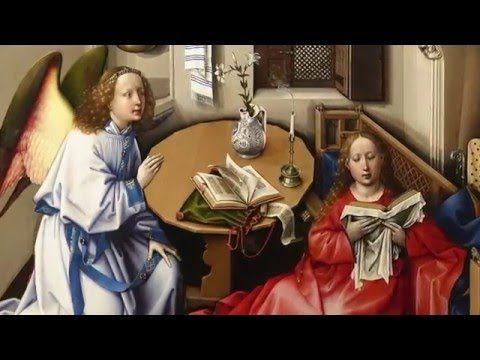 Workshop of Robert Campin, Annunciation Triptych (Merode Altarpiece) - YouTube