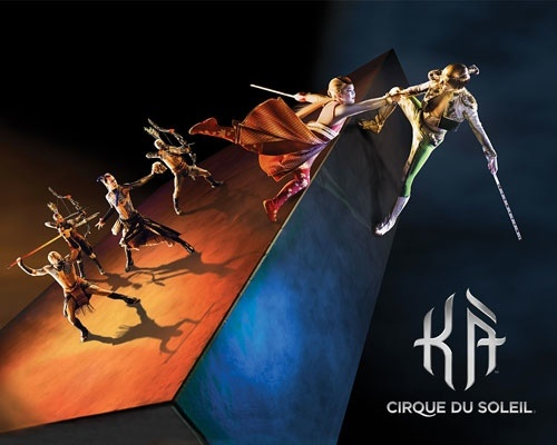 KA-Cirque du Soleil at Las Vegas MGM Grand, loved it going back again June!