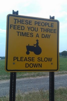 THESE PEOPLE FEED YOU THREE (3) TIMES A DAY.......PLEASE SLOW DOWN  || Here's Your Sign!