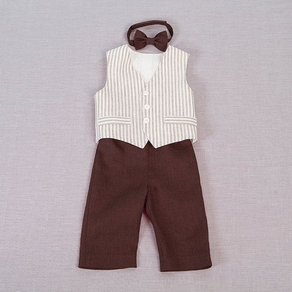 Hey, I found this really awesome Etsy listing at https://www.etsy.com/listing/174264262/baby-boy-linen-suit-ring-bearer-outfit