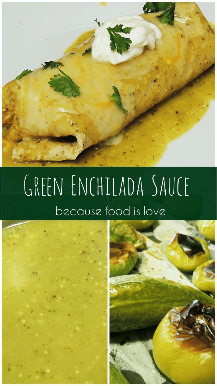 green enchilada sauce