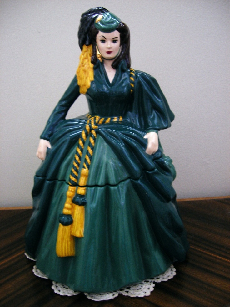 "Gone With the Wind~ ""SCARLETT O'HARA ~ Cookie Jar"
