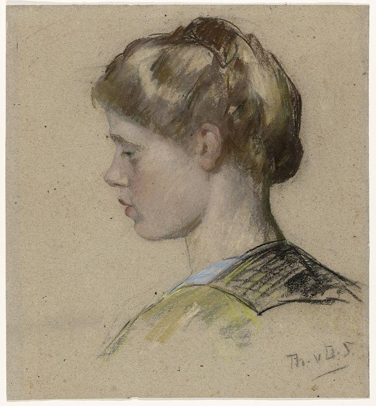 Title   Portret van een jonge vrouw | Schwartze, Thérèse  Portret van een jonge vrouw | Schwartze, Thérèse