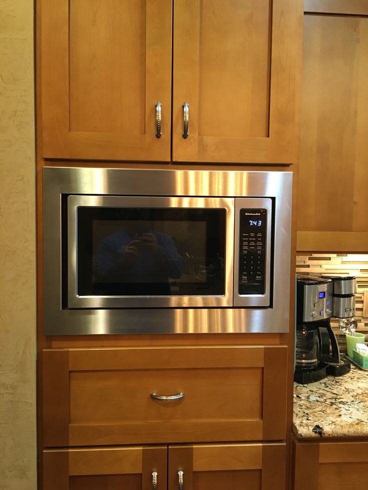 27 custom trim kit for a kitchenaid microwave model