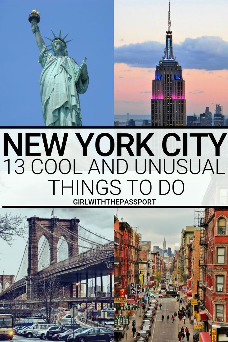 23 Unusual Things to do in NYC (with SECRET tips from a local