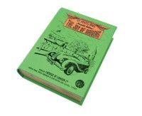 Engaña los ojos con este libro-compartimiento para usar en tu auto y evitar interés de los amigos de lo ajeno. Excelente terminación y presentación.