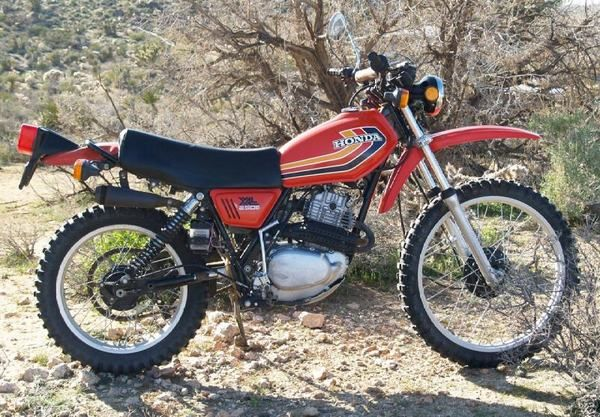Honda XL. Had a couple of these ...... ssssoooo much fun on and off the road....