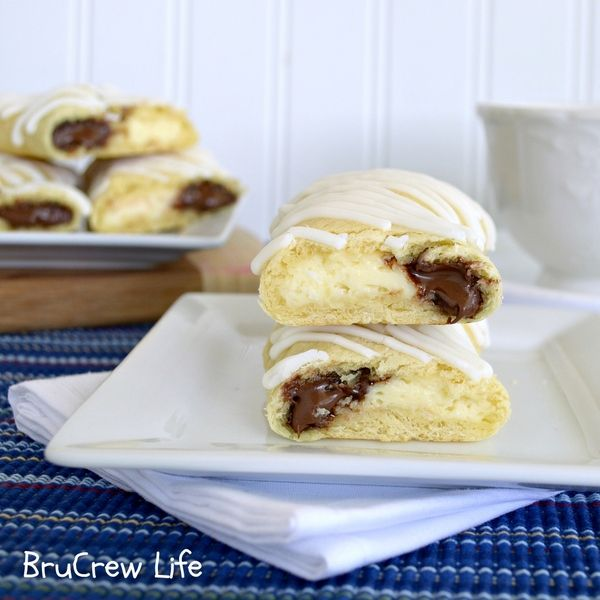 Cheesecake Nutella Twists...a really fantastic Brunch addition or just to make the weekend special.  Not difficult.