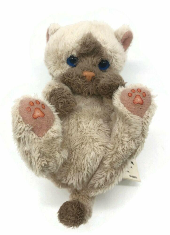 Hasbro Fur Real Friends Snuggimals Pet Baby Cat Kitten Toy Animal