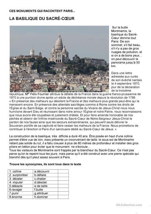 """Ces monuments qui racontent Paris - Le Sacre- CÅ""""ur"""