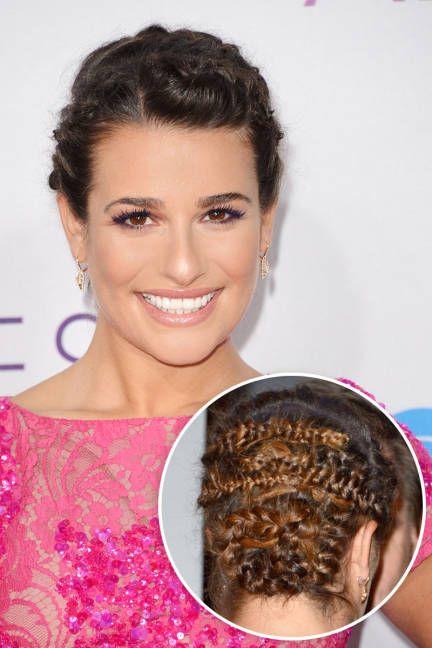 Wedding braids: Celebrity hairstyle inspired braided updos