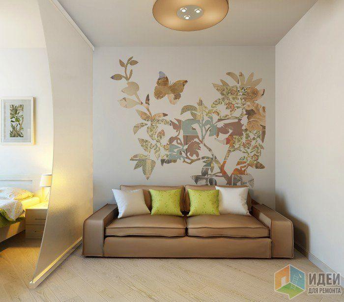 """Фотографии [82656]: ЖК """"Современник"""", 1-комнатная квартира от дизайнера Екатерина Ненашева"""