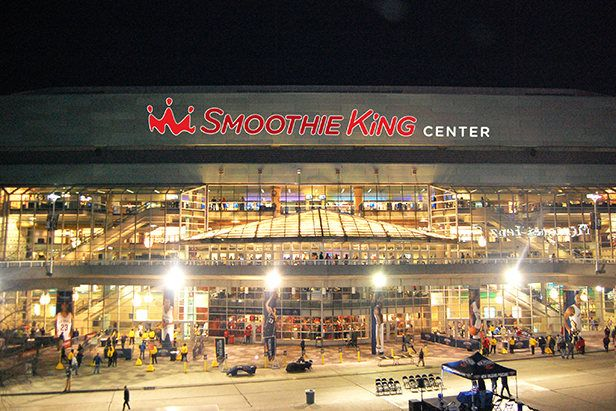 The Smoothie King Center: Host of the 2017 NBA All-Star Game: The NBA All-Star Game is returning to the Smoothie King Center! For the second time since Smoothie King announced its multi-year partnership with the New Orleans Pelicans in 2014, the Smoothie King Center will host basketball's brightest (and tallest!) stars. Find more details on our blog!