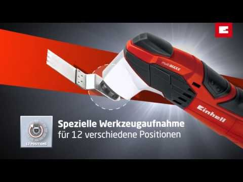 Einhell Multi-MAXX Multi-Function Tool with 5 Blades - YouTube