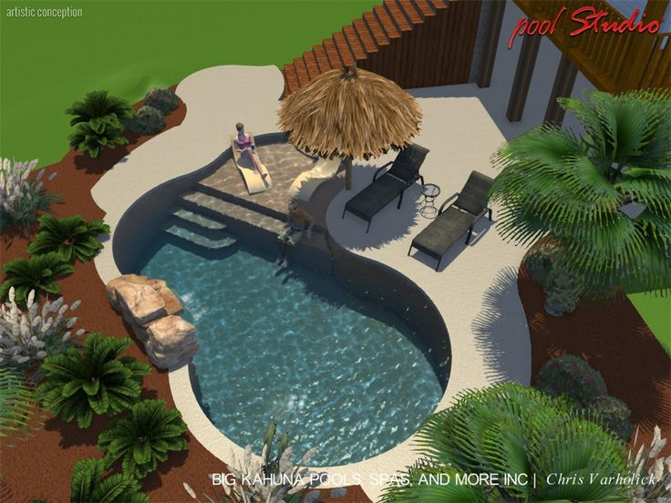 contemporary backyard open patio small pool see more aurora beach entry 2_019 2jpg 1000750