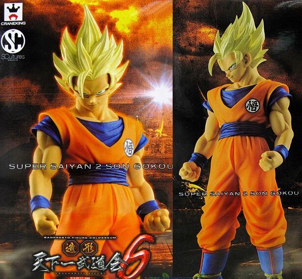 24.41$  Watch here - http://ali1lq.shopchina.info/1/go.php?t=32659493308 - Banpresto SCultures Dragon Ball Z Son Gokou Action Figure 170MM Dragon Ball Goku Model Toy Figuras DBZ Super Saiyan 2 Son Goku 24.41$ #aliexpressideas