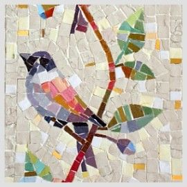 pajarito bird Lovely creation #mosaic #animals