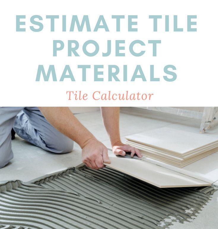 Tile Calculator And Cost Estimator Plan A Floor Wall Or Backsplash Flooring Cost Creative Bathroom Design Master Bathroom Design