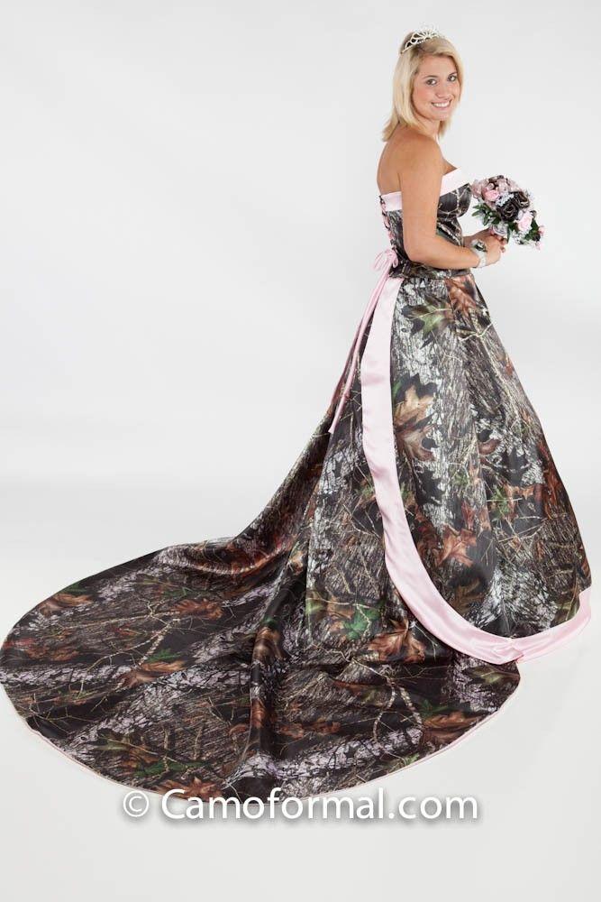 72 best images about mossy oak new breakup camo formal for Mossy oak camo wedding dress