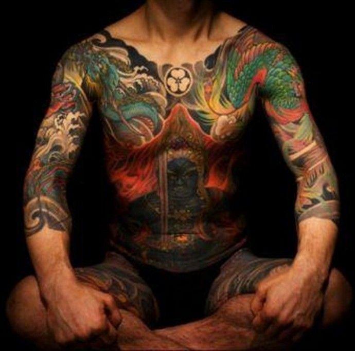 Татуировка якудза культурные корни и значения. | Colors.life
