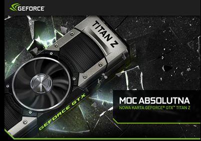 Jedna z najmocniejszych kart graficznych dostępnych na rynku GeForce GTX Titan Z #geforce #titan | http://www.komputronik.pl/GeForce_GTX_Titan_Z