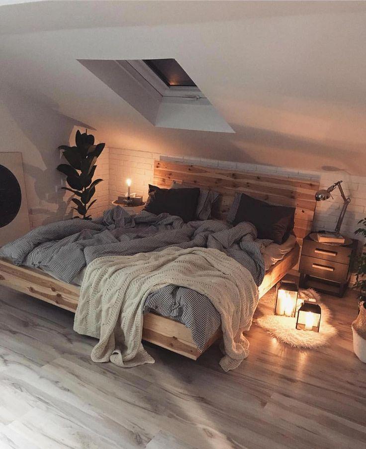 Dachgeschoss Schlafzimmer Ideen Slaapkamerideeen Rustikales