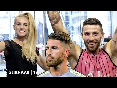 Sergio Ramos Hairstyle 2016 football EM ★ Men's Hair Tutorial ★ Created By Hair lovers - YouTube