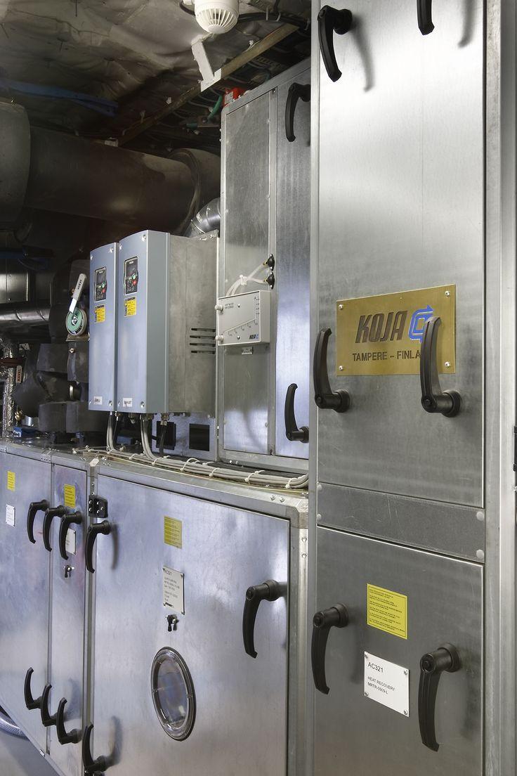 Kokemus ilmastointisuunnittelusta katsotaan eduksesi projektiassistentin työssä. Kuvassa Future-ilmastointikone.