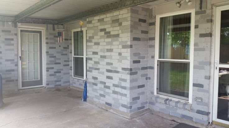 brick cleaning, brick staining,brick improvement ideas,curb appeal, Pinterest…