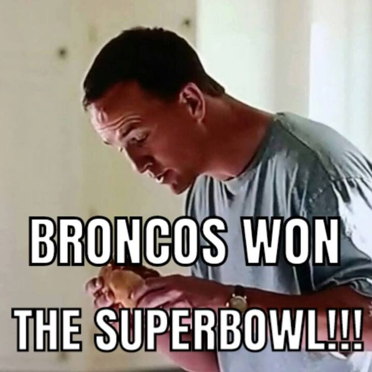 Tasty Bronco Super Bowl win!