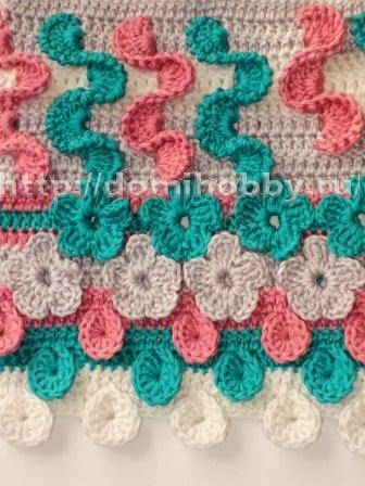 Free Crochet Patterns: Free Crochet Patterns: Interesting Crochet Stitches. Many more stitches than shown in pic