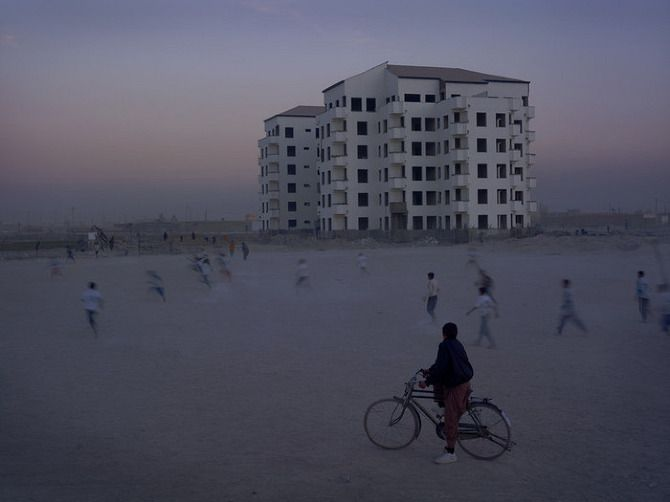 Property development near Kabul Airport from Burke + Norfolk: Photographs from the War in Afghanistan Simon Norfolk
