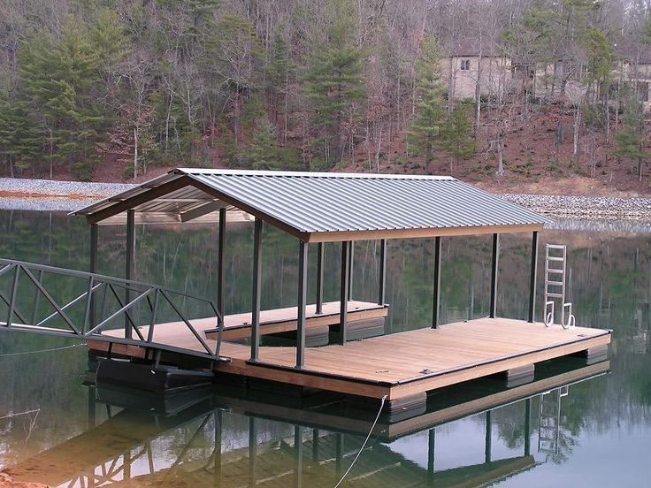 Covered boat docks google search nice yards n decks for Boat barn plans