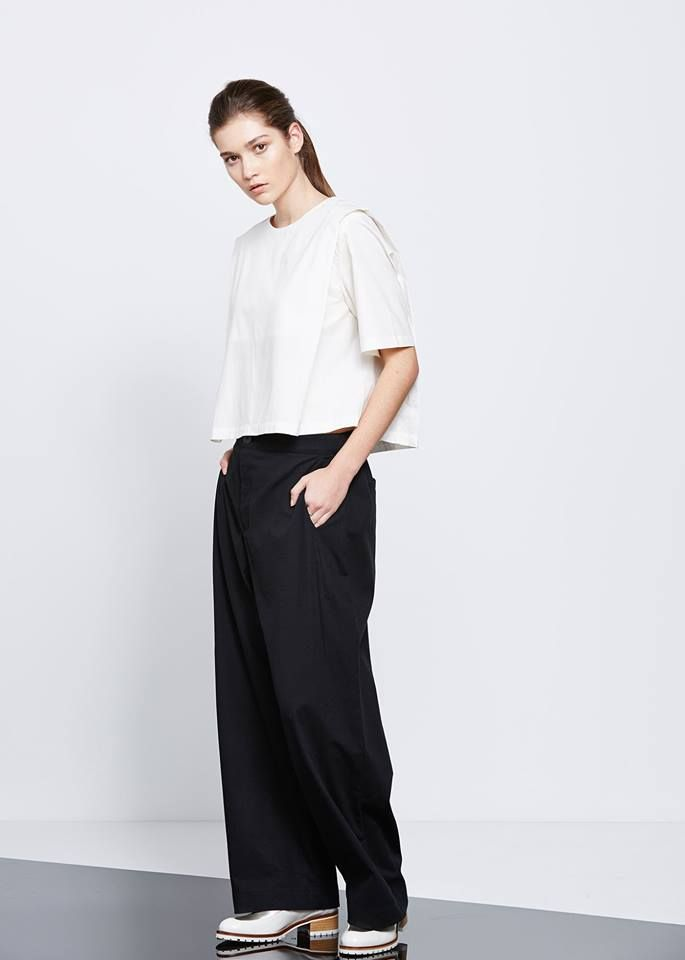 In Real Time Top by Kowtow. Ethical organic cotton.