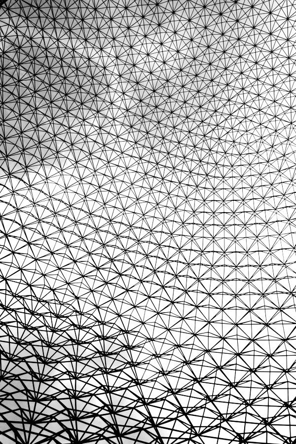 fiore-rosso: richard buckminster fuller. the geodesic dome. montreal, canada.
