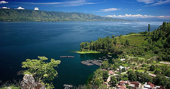 Lake Toba, Sumatra. One of the most magical places on Earth.