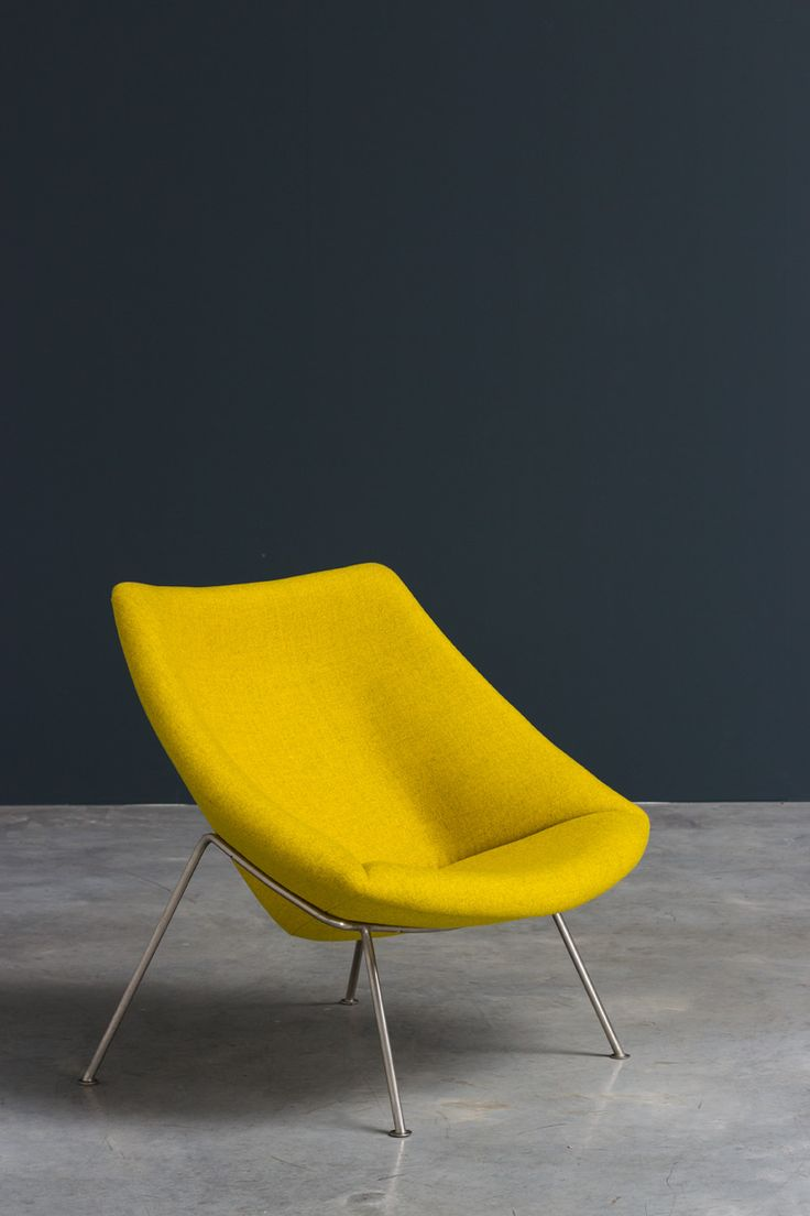 Paulin Pierre Oyster F156 lounge chair Artifort | http://www.furniture-love.com/browse.php | From selection of important 20th century modern furniture.