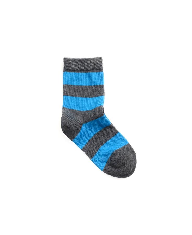 BLOCKING STRIPE ankle sock