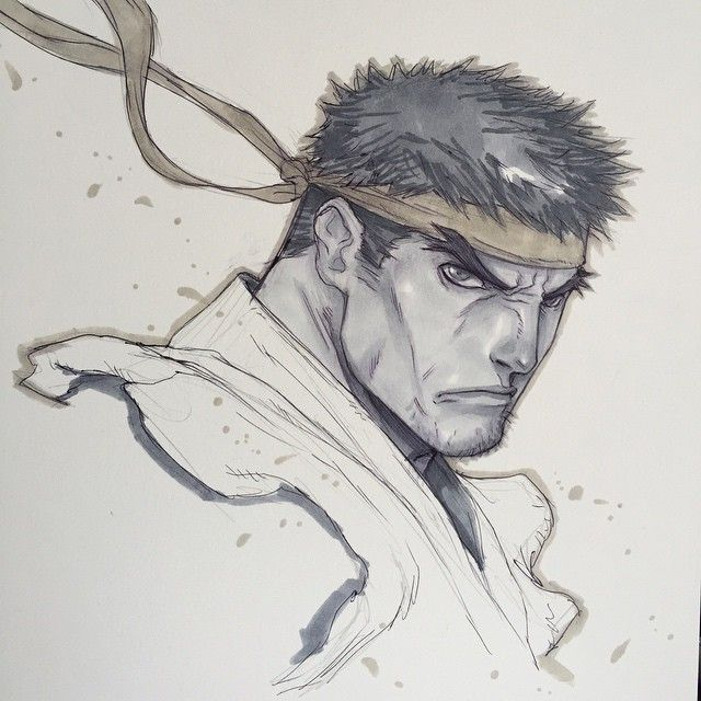 Street Fighter - Ryu by Alvin Lee