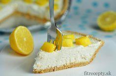 Výborný nepečený citrónový cheesecake - FitRecepty